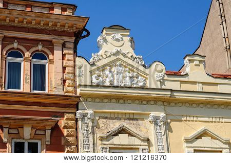 Relief At 46 Hlavna Main Street In Kosice