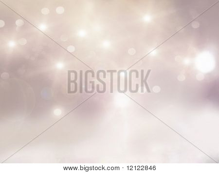 Glamour style starry interior