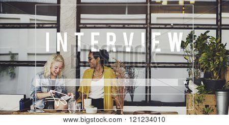Interview Journalism Evaluation Questions Concept