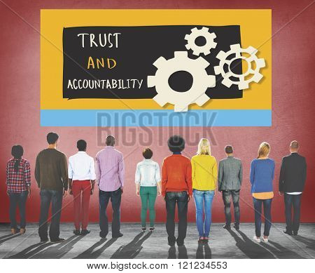 Trust Accountability Responsibility Illustration Concept