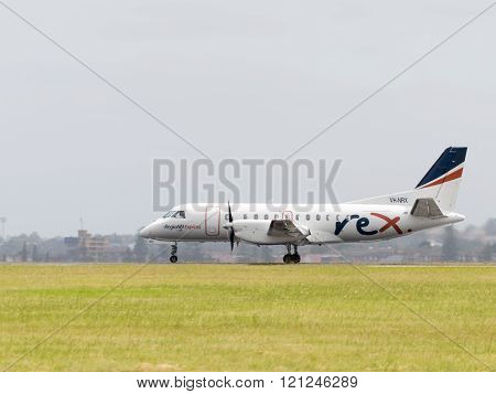 Passenger Saab Aircraft Co Regional Express Holdings Limited