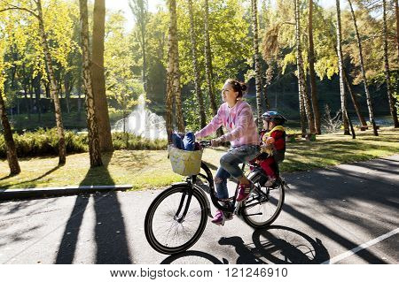 Bicycling With A Kid