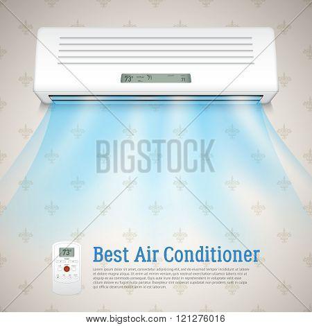 Best Air Conditioner Illustration