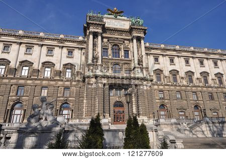 Hofburg Palace In Wien