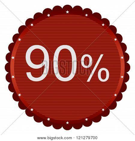 Sale 90 Percent