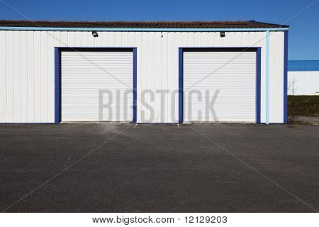 Industrial Garage Doors With Forecourt