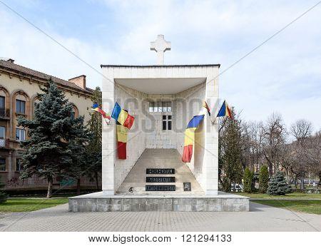 Anti comunistic monument in Cluj Napoca, Romania