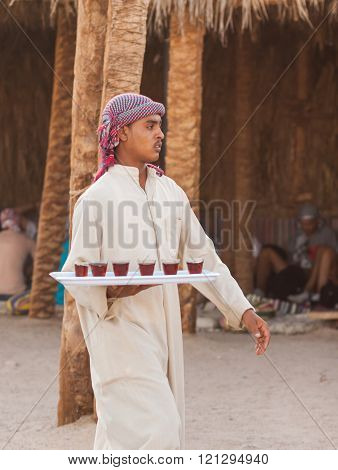 Unidentified Bedouins In The Old Part Of Hurghada