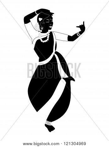 Indian Girl Black