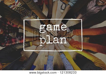 Game Plan Mission Goals Planning Solution Sports Concept