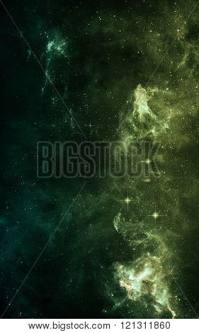 Starfield in deep space many light years far from the Earth. Elements of this image furnished by NAS