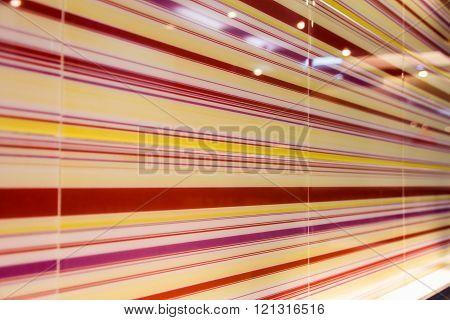 Rainbow leather texture perspective