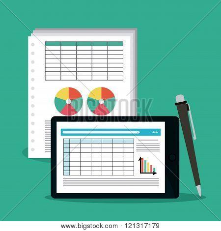 Spreadsheet icon design