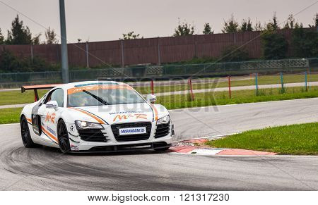 Audi R8 Safatycar M&r Team