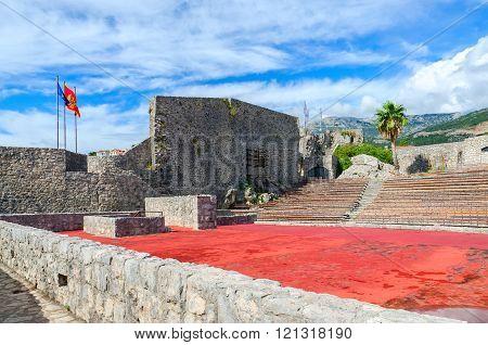 Fortress Kanli Kula (Bloody Tower) in Herceg Novi Montenegro poster