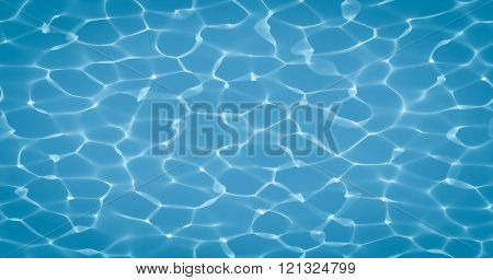 A nice turquoise under water caustics background