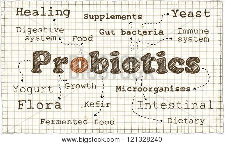 Illustration About Probiotics