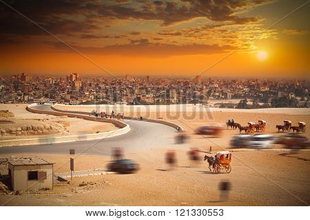 Cairo, Egypt. Largest City In Africa.