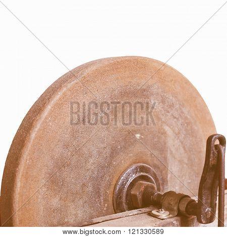 Grinding Machine Vintage