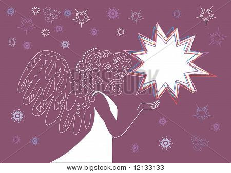 Angel With The Christmas Star