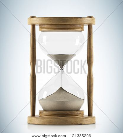 Wooden Hour Glass