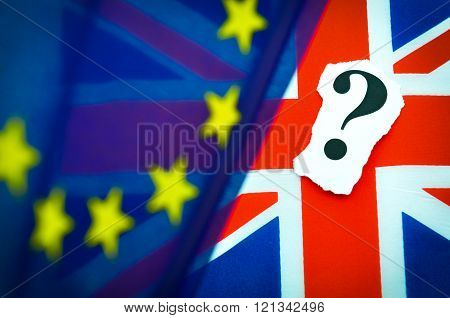 The future of the UK in European Union concept