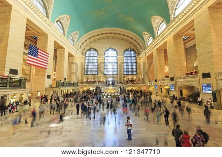 The famous Grand Central Terminal