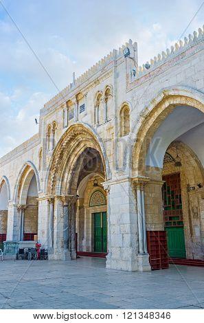 The Al-aqsa's Main Entrance