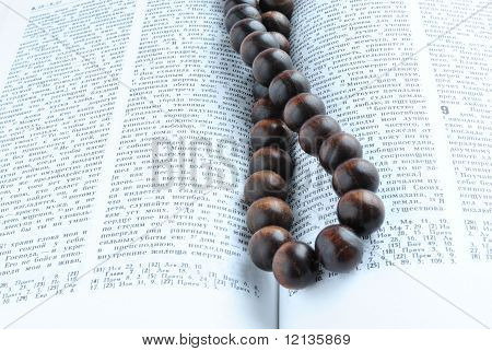 Bible Rosary Beads
