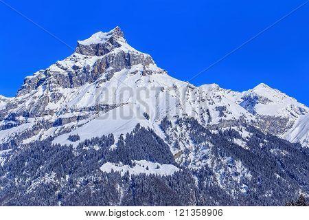 Mount Hahnen In Switzerland