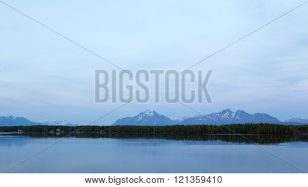 Alaska's Lakes and Mountains