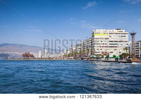 Coastal Cityscape With Modern Buildings, Izmir