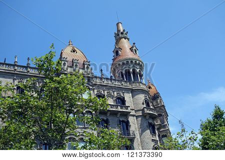 BARCELONA, SPAIN - JULY 31, 2015: Close view of the