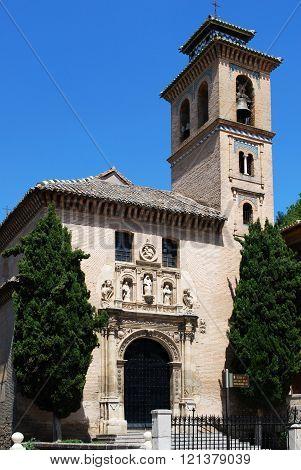 Santa Ana Church, Granada.