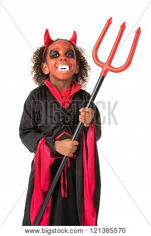 Devil in Halloween