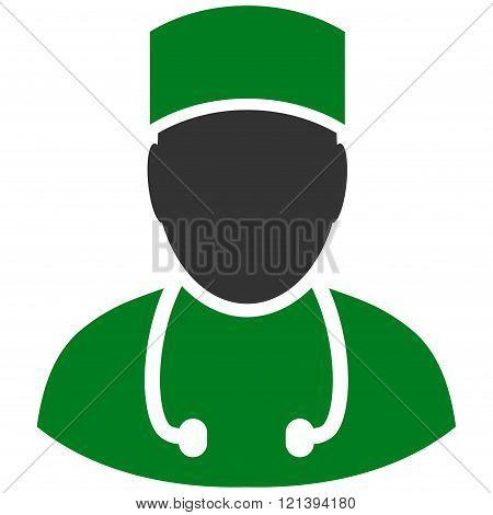 Doctor Flat Vector Symbol