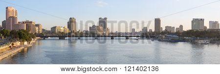 Central Cairo Skyline