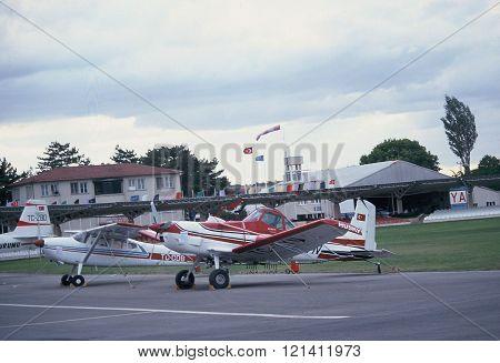 Cessna Ag Husky
