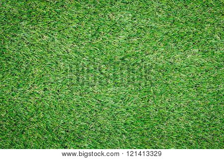 Background Texture With Fake Grass.