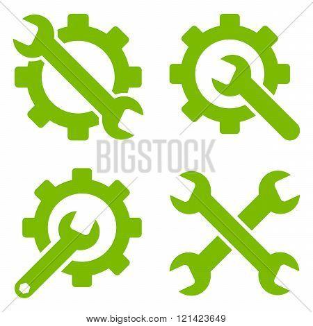 Tools Flat Vector Symbols