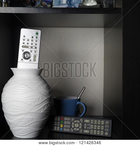 Tv Remotes In Interior