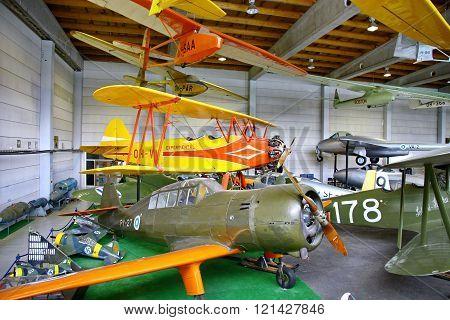 The Aviation Museum In Vantaa