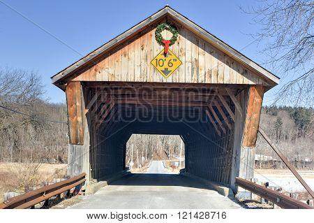 Depot Covered Bridge - Vermont