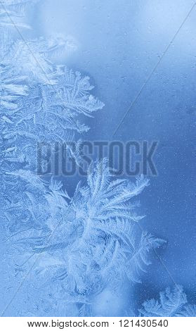 Fairy-like sparkling winter background