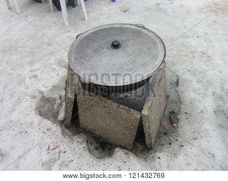Cauldron copper