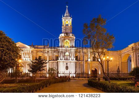 Basilica Cathedral, Arequipa