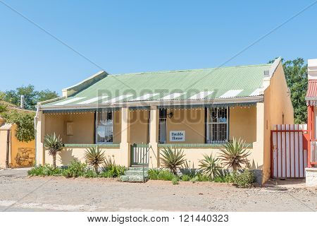 Historic Old House From The Victorian Era In Cradock