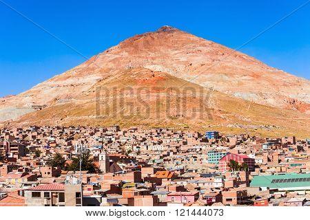 Cerro Rico Mountain