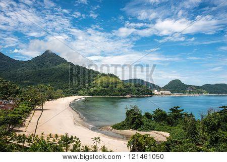 Beach Near Angra Nuclear Power Plant, Rio de Janeiro, Brazil