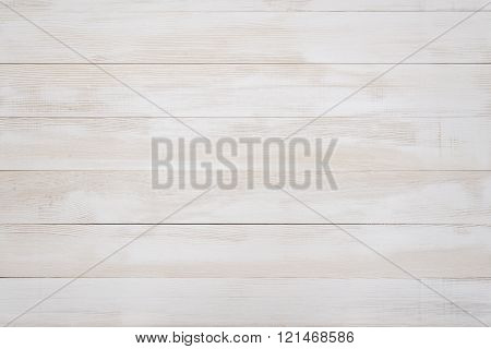 Photo of white clean wood panels. Background texture.